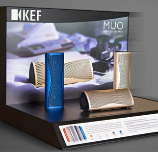 KEF Point Of Purchase Display – Case Study