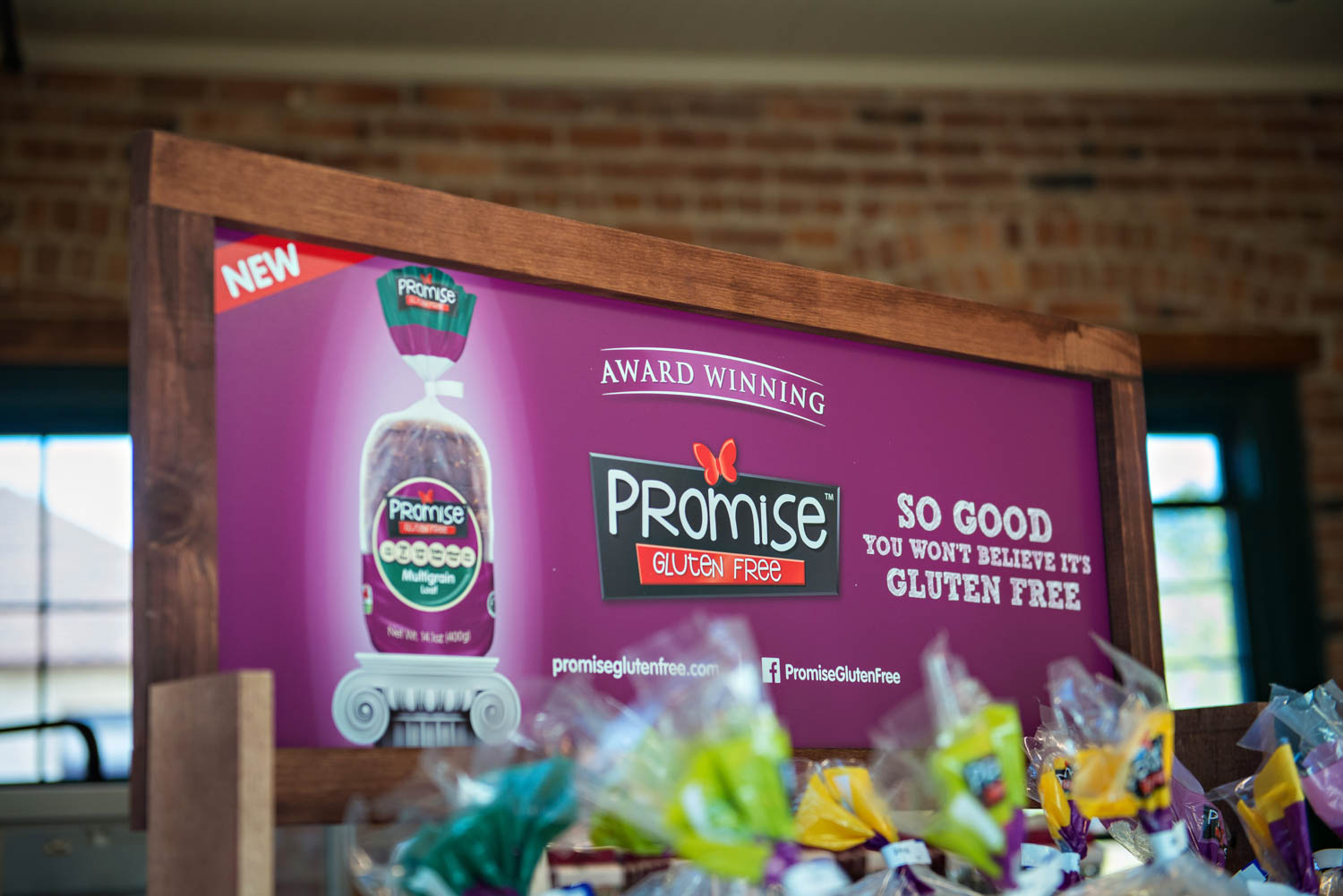 Promise Gluten Free - Wood Displays