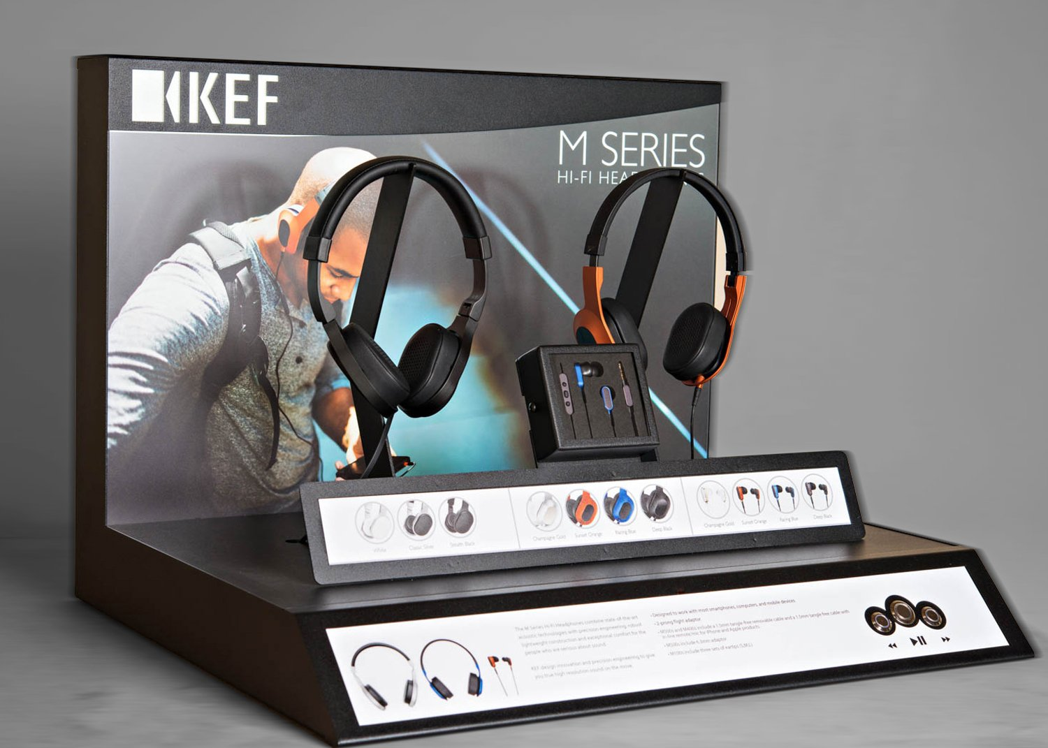 kef audio headphones