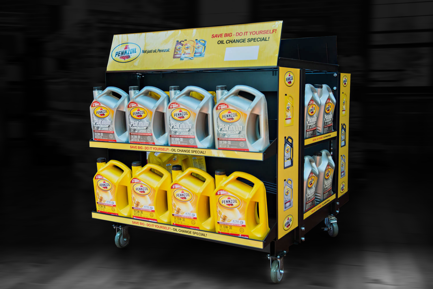 metaline-pennzoil-platinum-point-of-purhcase-display
