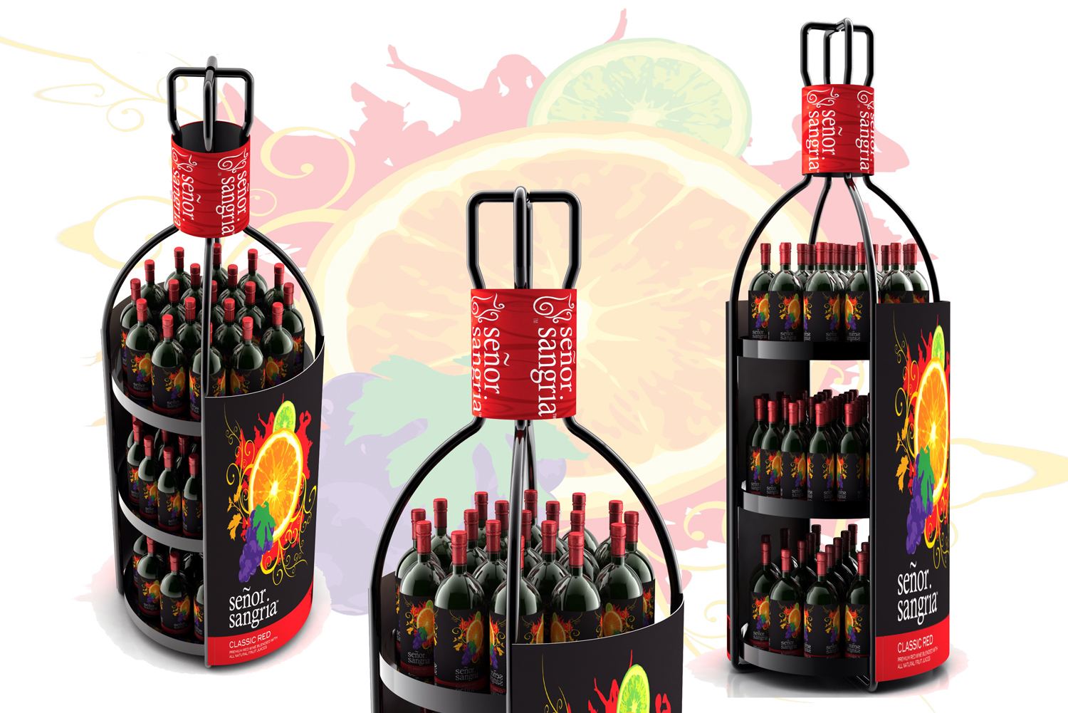 Senor Sangria - Custom Point of Purchase Displays