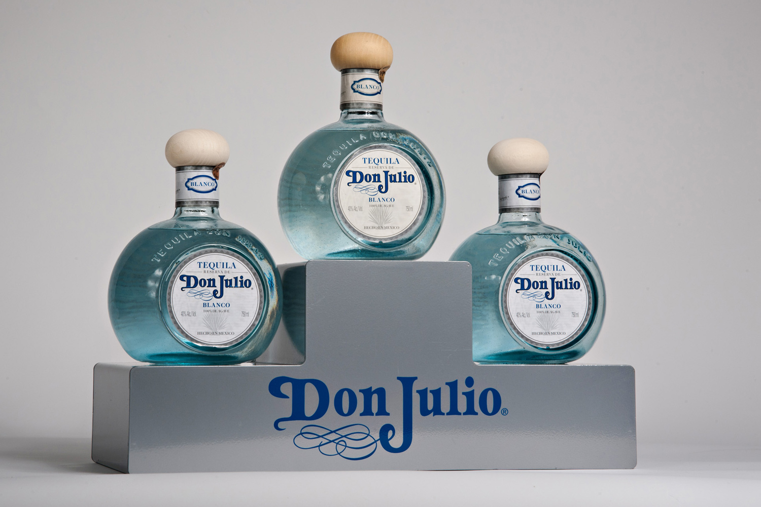 don julio tequila point of purchase display by metaline