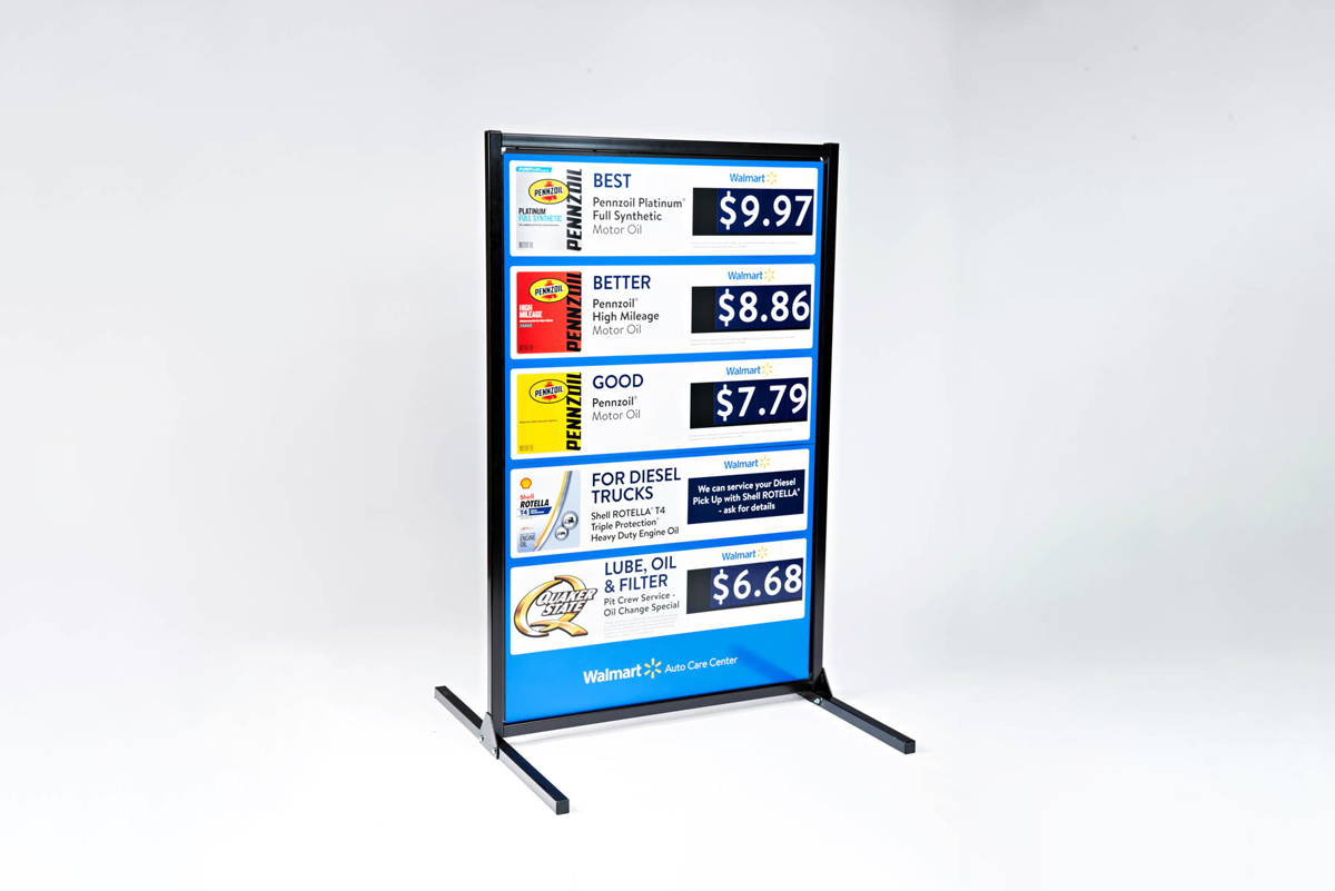 Custom Point of Purchase Displays for Walmart